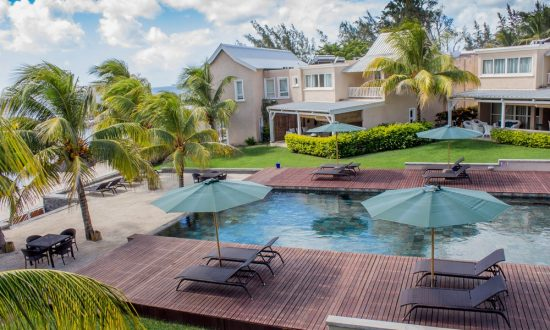 mauritius villa with pool
